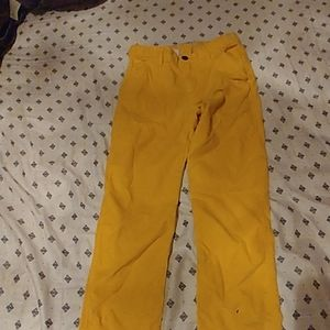 Oshkosh Girl velvet lines pants